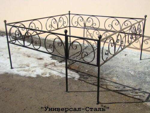 Кованая ограда №87 — фото