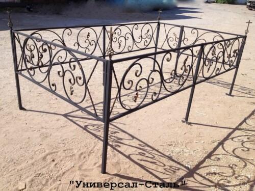 Кованая ограда №89 — фото