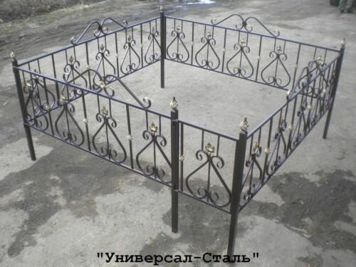 Кованая ограда №92 — фото