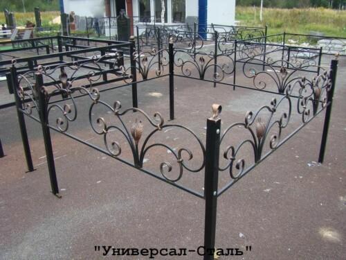 Кованая ограда №93 — фото