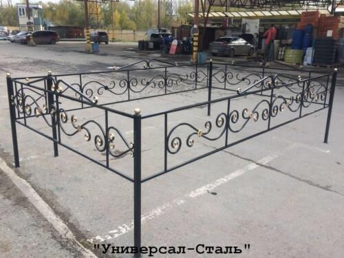 Кованая ограда №96 — фото