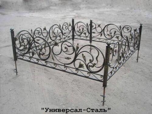 Кованая ограда №98 — фото