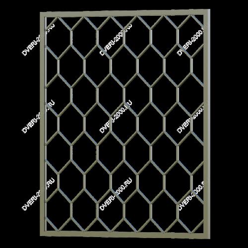 Сварная решетка №23 — фото