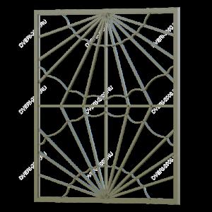 Сварная решетка №34 - фото 1