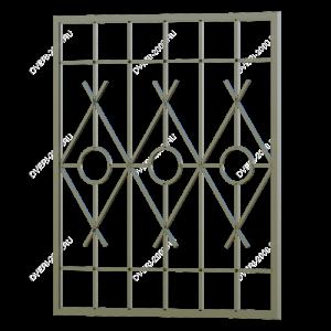 Сварная решетка №38 - фото 1