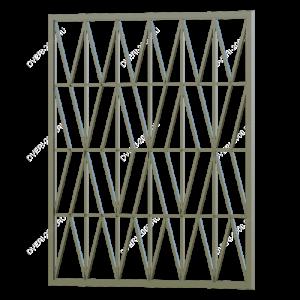 Сварная решетка №43 - фото 1