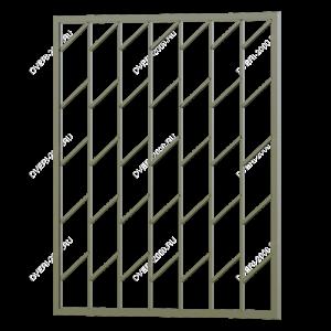 Сварная решетка №45 - фото 1