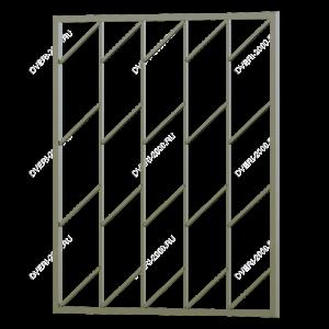 Сварная решетка №6 - фото 1