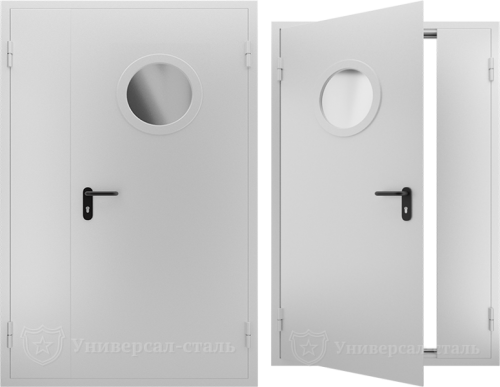 Техническая дверь ТД8 — фото