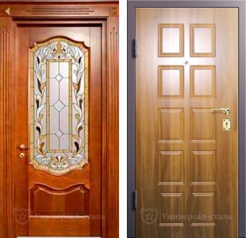 Входная дверь ТР115 — фото